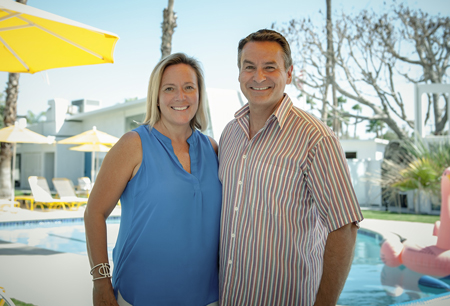 Kathy and Gary Friedle, owners