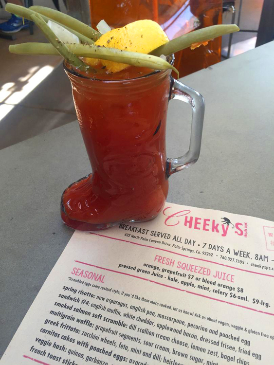 Cheeky's Bloody Mary