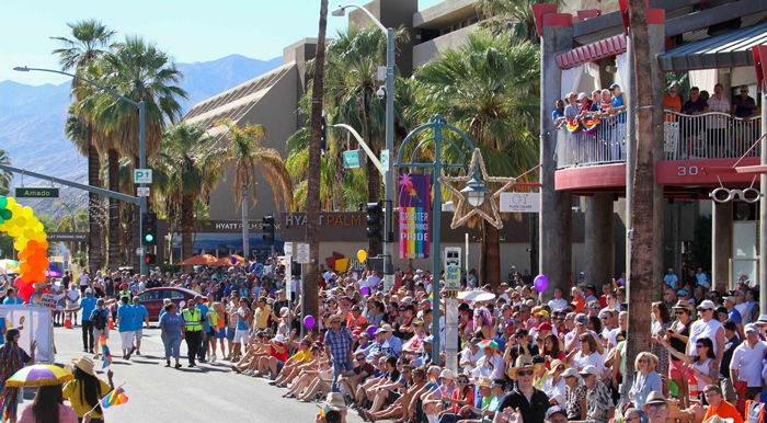 Greater Palm Springs Pride parade
