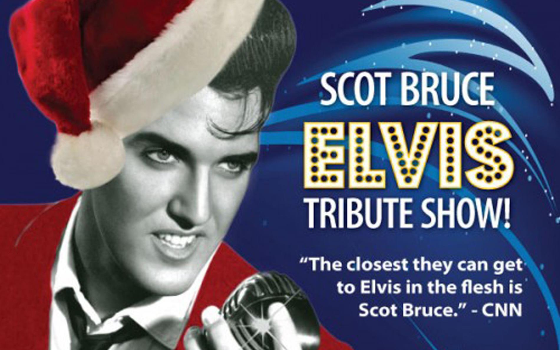 Elvis Blue Suede Christmas tribute show