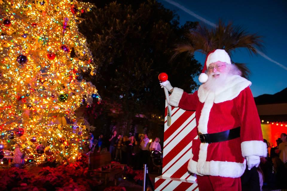 Palm Springs Christmas Tree Lighting
