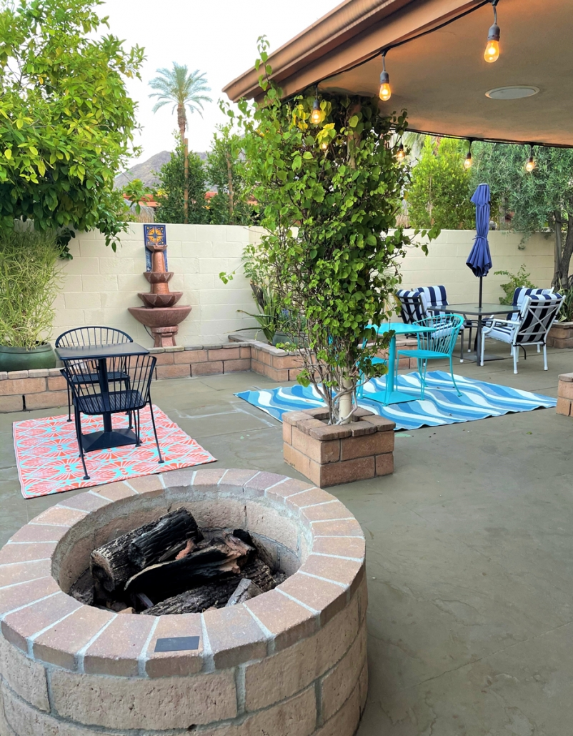 Old Ranch Inn Courtyard in Palm Springs. Photo Credit: Brittany Ryan